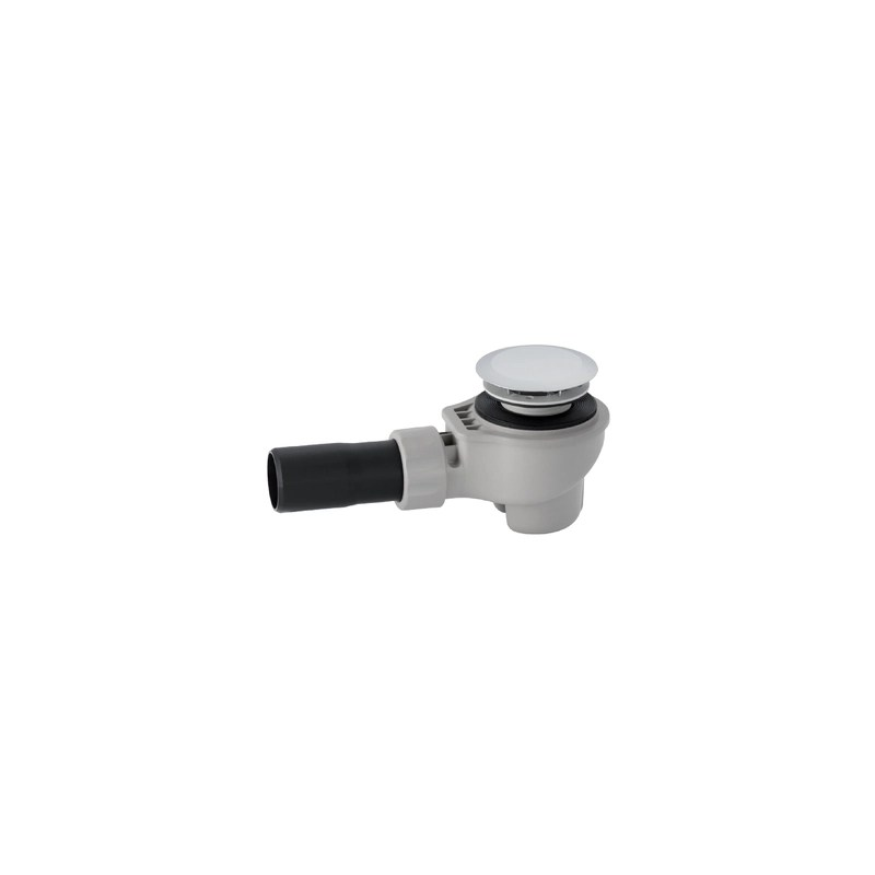 Geberit Shower Drain d50 with Ready-To-Fit Set, Adaptor PVC