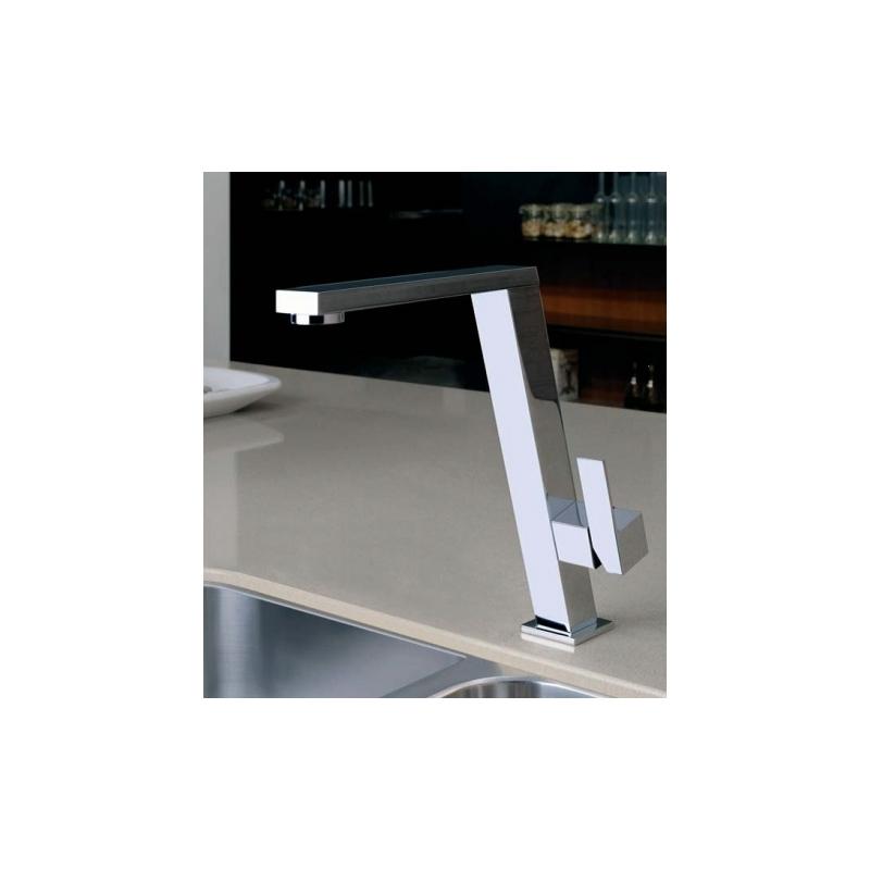 Gessi Incline Kitchen Sink Mixer 17047 Chrome