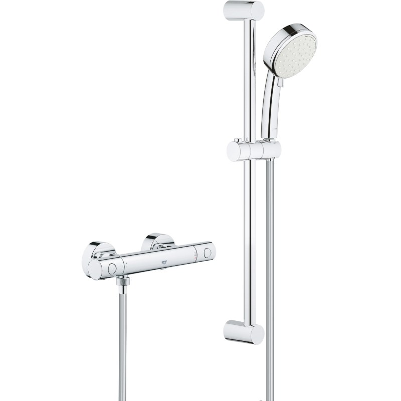 Grohe Grohtherm 800 Cosmopolitan Thermostatic Shower Set 34768