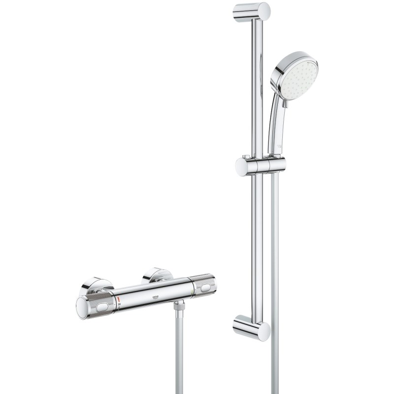 Grohe Grohtherm 1000 Performance Shower Mixer with Kit 34783