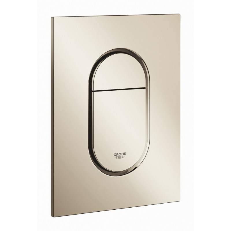 Grohe Arena Cosmopolitan S Flush Plate Polished Nickel