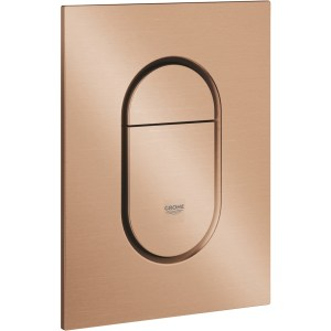 Grohe Arena Cosmopolitan S Flush Plate Brushed Warm Sunset