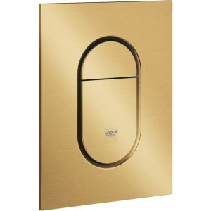 Grohe Arena Cosmopolitan S Flush Plate Brushed Cool Sunrise