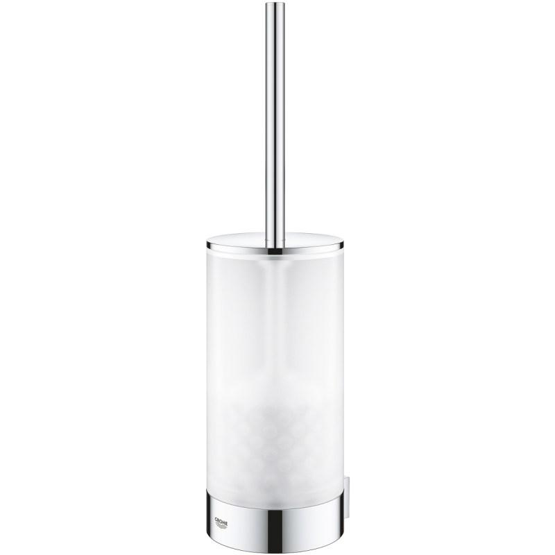 Grohe Selection Toilet Brush Holder Set Chrome