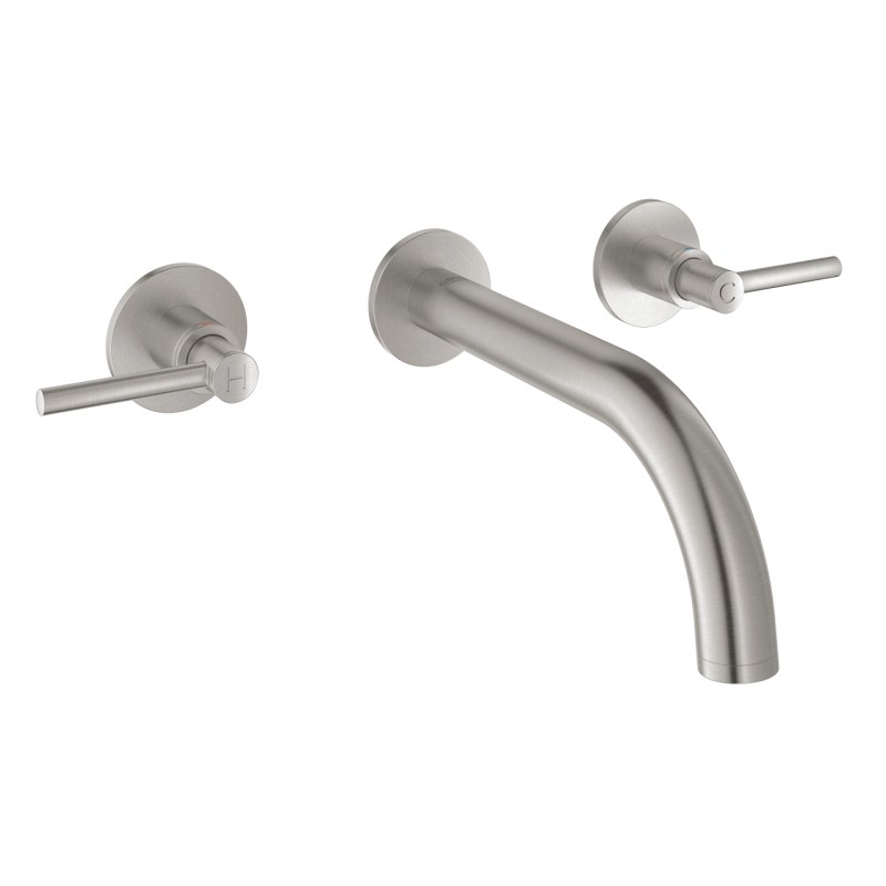 Grohe Atrio Wall Basin Mixer S-Size 20169 Supersteel