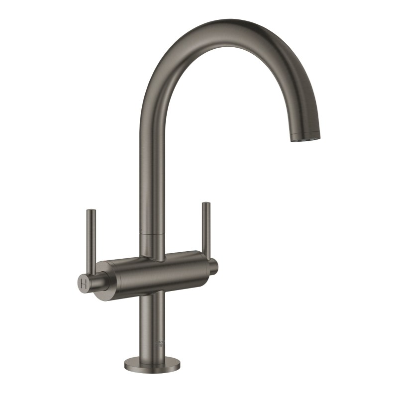 Grohe Atrio Lever Handle Basin Mixer L-Size 21022 Brushed Graphite