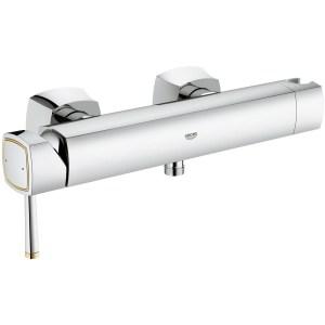 "Grohe Grandera Wall Mounted Shower Mixer 1/2"" 23316 Chrome/Gold"