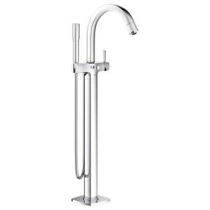 "Grohe Grandera Floor Bath/Shower Mixer 1/2"" 23318 Chrome"