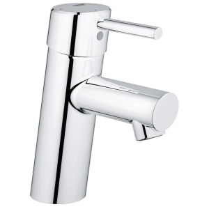 """Grohe Concetto Basin Mixer Smooth Body 1/2"""" Small 23385"""