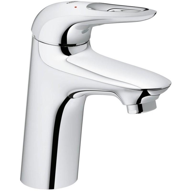 "Grohe Eurostyle Smooth Body Basin Mixer 1/2"" S-Size 23567"