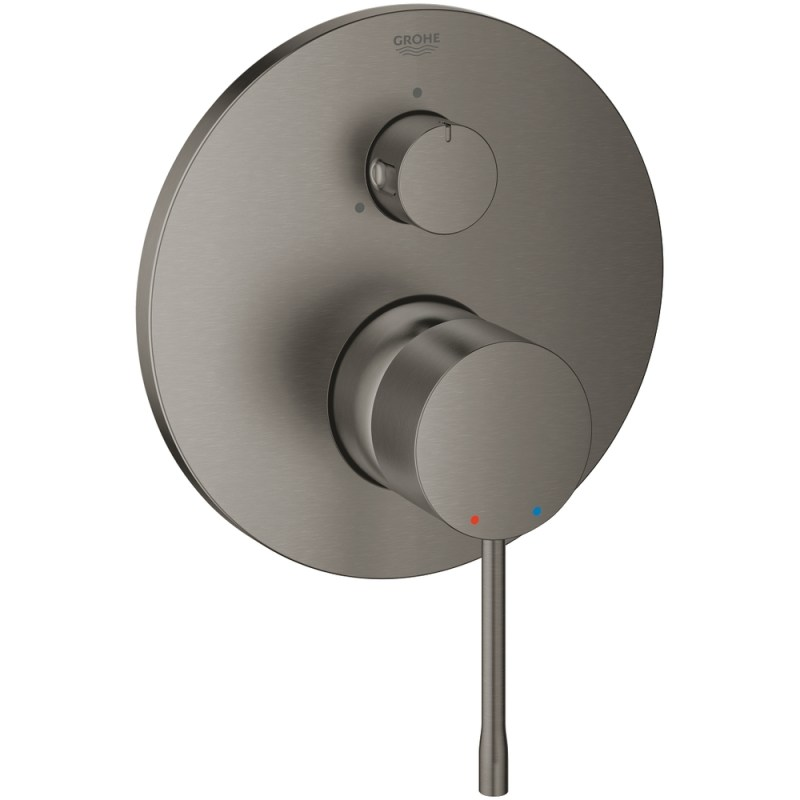 Grohe Essence Mixer Trim with Diverter 24092 Brushed Graphite