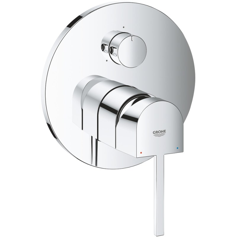 Grohe Plus Single-Lever Mixer Trim with 3-Way Diverter 24093