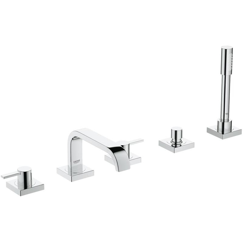 Grohe Allure 5-Hole Bath/Shower Combination 25097