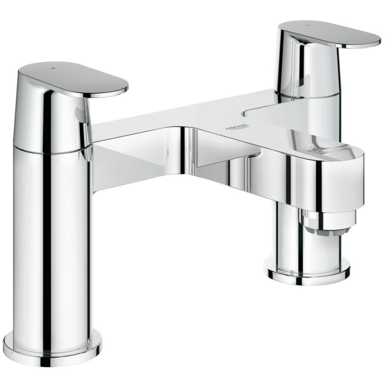 "Grohe Eurosmart Cosmopolitan Two-Handled Bath Filler 1/2"" 25128"