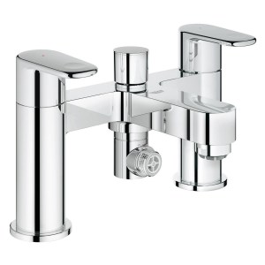 "Grohe Europlus Two-Handled Bath/Shower Mixer 1/2"" 25133"