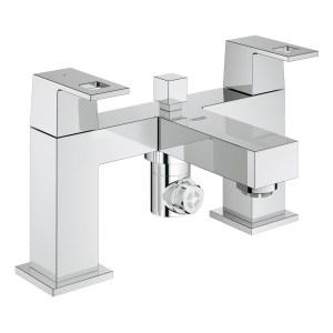 "Grohe Eurocube Two-Handled Bath/Shower Mixer 1/2"" 25137"