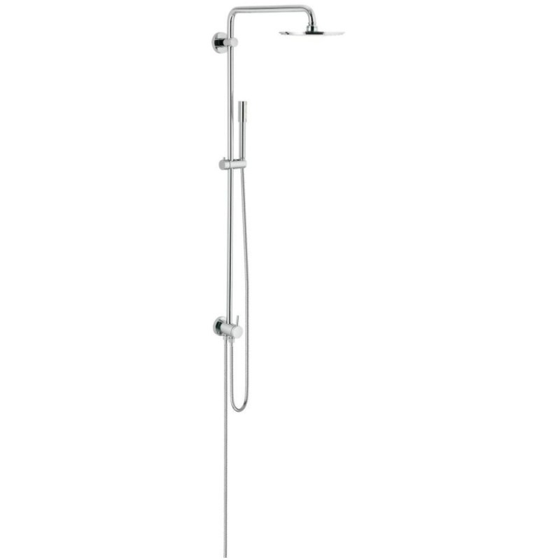 Grohe Rainshower 210 Wall Shower System with Diverter 27058