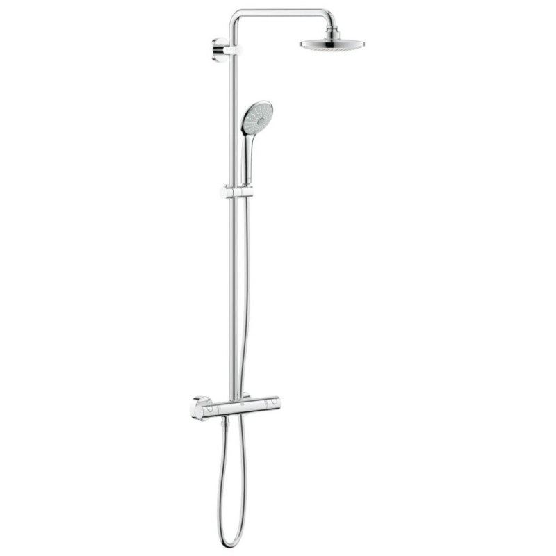 Grohe Euphoria 180 Wall Mounted Thermostatic Shower System 27296