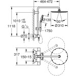Grohe Rainshower Smartactive 310 Shower System 27968