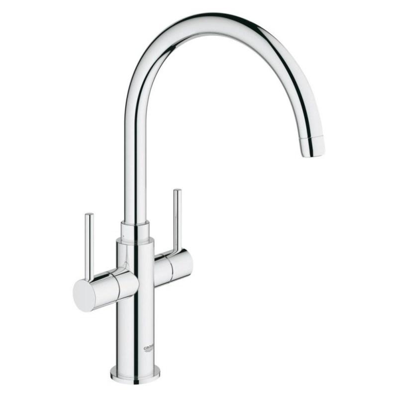 """Grohe Ambi Cosmopolitan Two Handle Sink Mixer 1/2"""" 30190"""