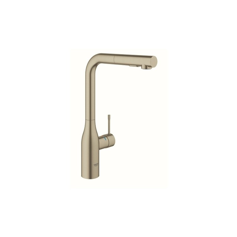 Grohe Essence Kitchen Sink Mixer Tap 30270 Brushed Nickel