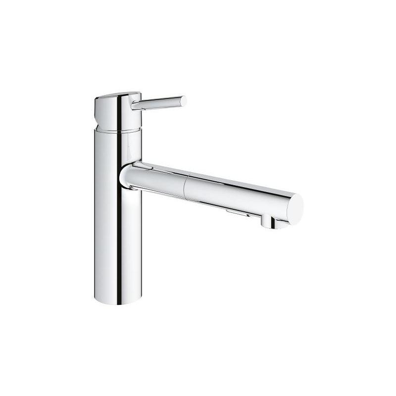 Grohe Concetto Sink Mixer Tap with Pull Out 30273 Chrome