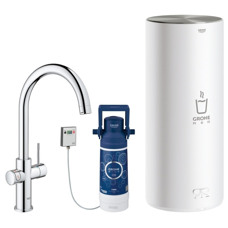 Grohe Red Duo Tap & L Size Boiler 30328