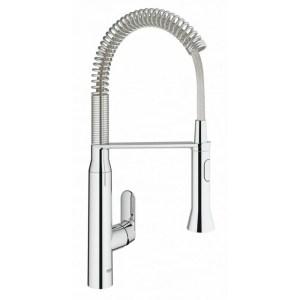 "Grohe K7 Single-Lever Mono Sink Mixer 1/2"" 31379 Chrome"