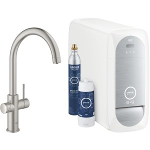 Grohe Blue Home C-Spout Duo 31455 Supersteel