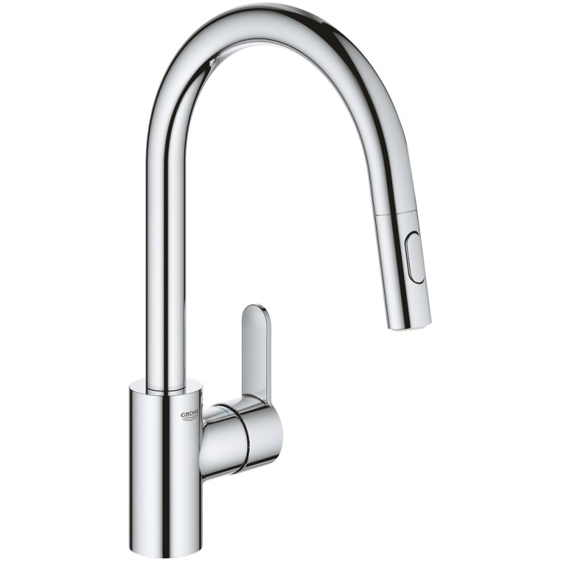 Grohe Eurostyle Cosmopolitan Sink Mixer with Pull Out Spout 31482