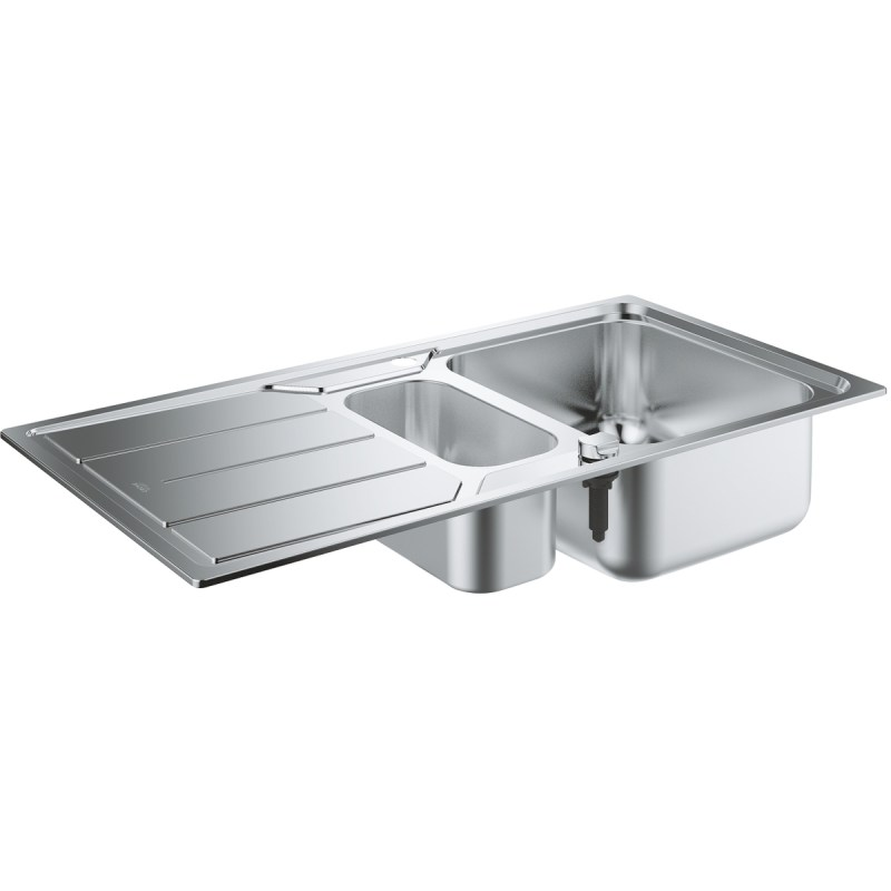 Grohe K500 Stainless Steel Sink with Drainer 31572