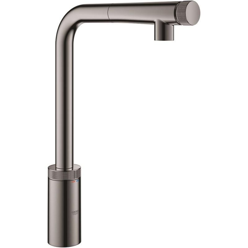 Grohe Minta SmartControl Sink Mixer 31613 Hard Graphite