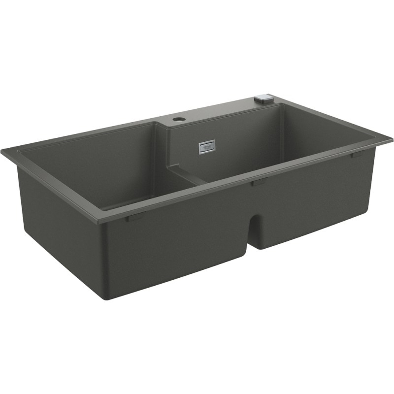 Grohe K500 90-C 86/50 2.0 Rev Sink with Drainer 31649 Gray