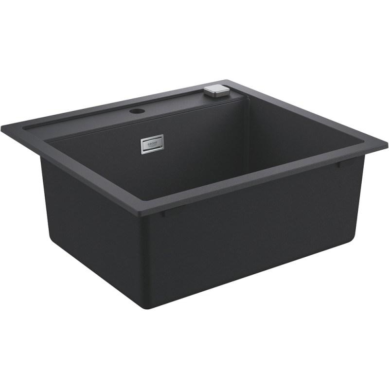 Grohe K700 60-C 56/51 1.0 Composite Sink 31651 Granite Black