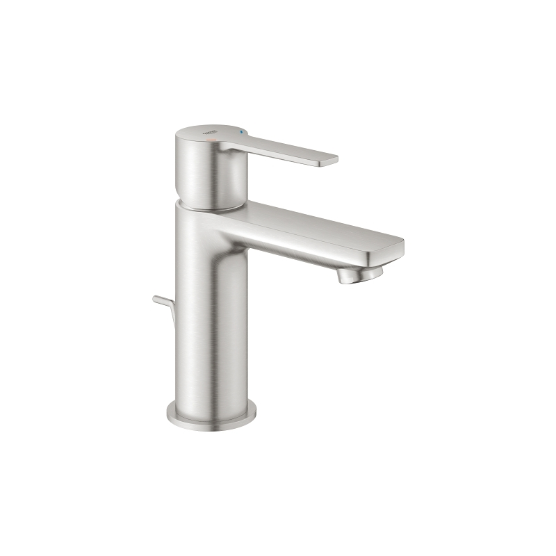 Grohe Lineare Basin Mixer Tap XS-Size 32109 Supersteel