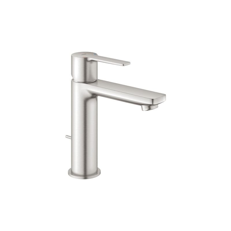 Grohe Lineare Basin Mixer Tap S-Size 32114 Supersteel
