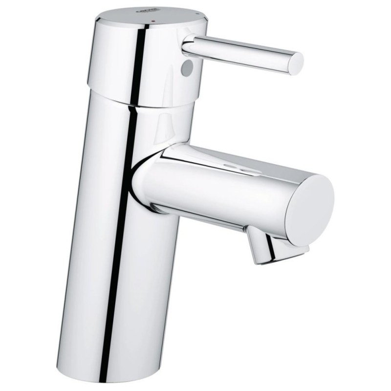 """Grohe Concetto Basin Mixer Smooth Body 1/2"""" Small 32240"""