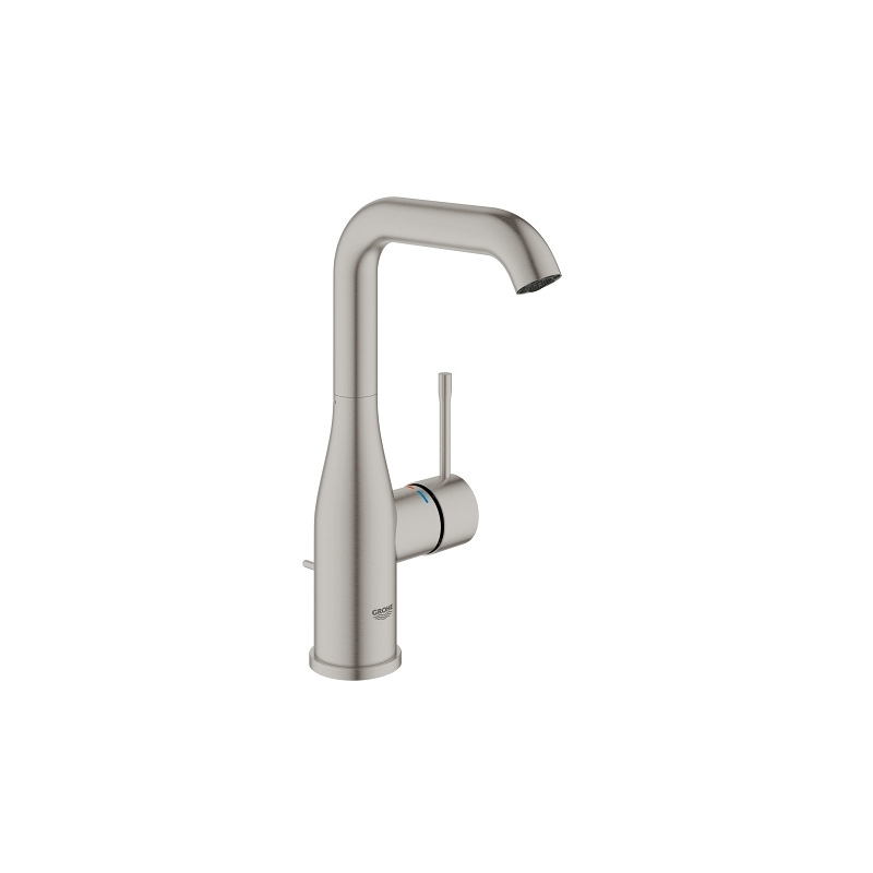 Grohe Essence Single-Lever Basin Mixer L-Size 32628 Supersteel