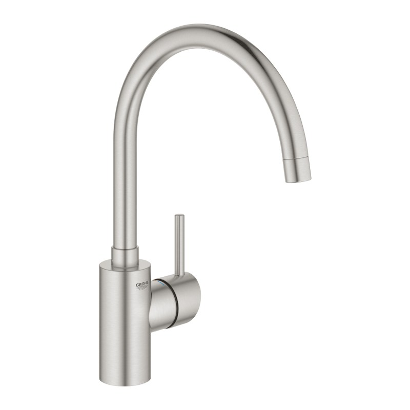 Grohe Concetto High Spout Sink Mixer 32661 Supersteel
