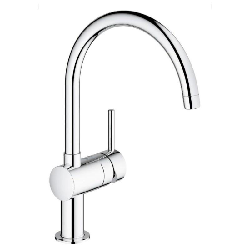 """Grohe Minta Mono Sink Mixer 1/2"""" 32917 Chrome"""