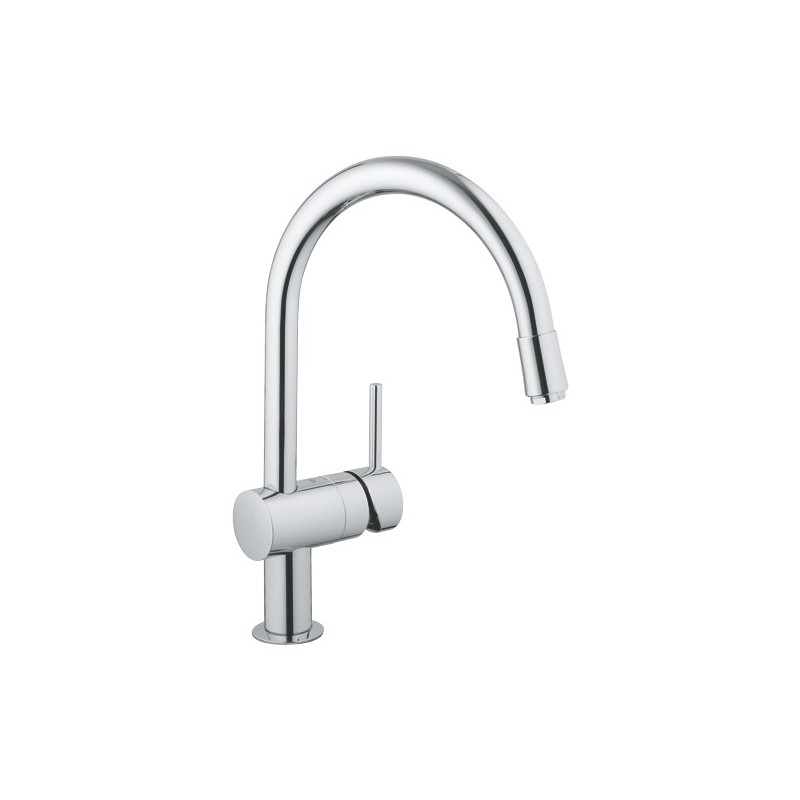 "Grohe Minta Sink Mixer 1/2"" 32918 EcoJoy"