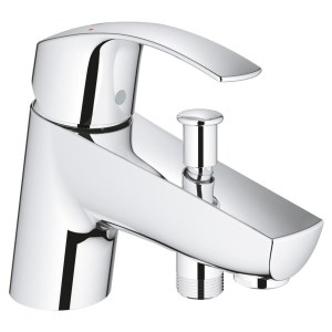 "Grohe Eurosmart  Single-Lever Bath/Shower Mixer 1/2"" 33412"