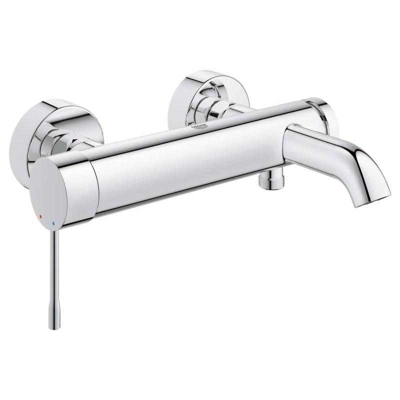 "Grohe Single-Lever Bath/Shower Mixer 1/2"" 33624 Chrome"