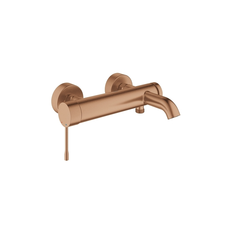 Grohe Essence Bath/Shower Mixer Tap 33624 Brushed Warm Sunset