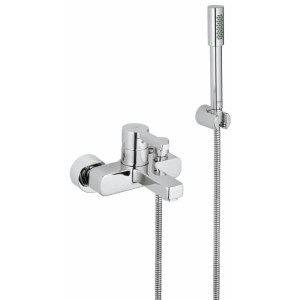 """Grohe Lineare Wall Mounted Bath/Shower Mixer & Kit 1/2"""" 33850"""