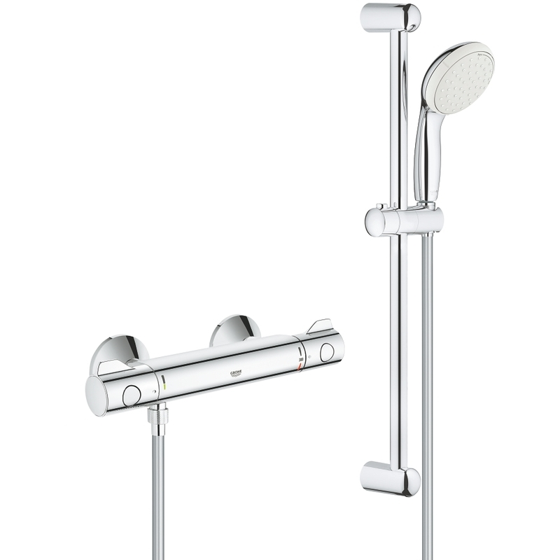 Grohe Grohtherm 800 Thermostatic Mixer & Shower Set 34565