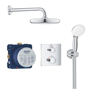 Grohe Grohtherm Square Tempesta 210 Perfect Shower Set 34729