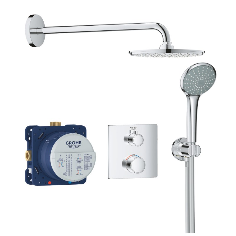 Grohe Grohtherm Square Perfect Shower Set 34734