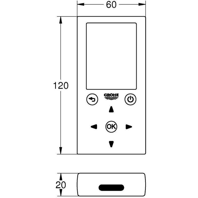 Grohe Remote Control 36407