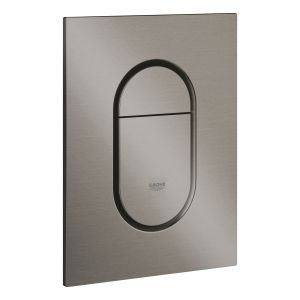 Grohe Arena Cosmopolitan S Dual Flush Plate 37624 Brushed Graphite
